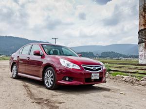 Subaru Legacy 2.5i 2012 a prueba