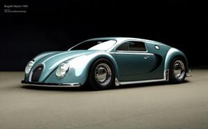 Bugatti Veyron Edición Beetle, un bólido clásico