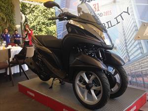 Yamaha Tricity 2015 llega a México en $65,900 pesos