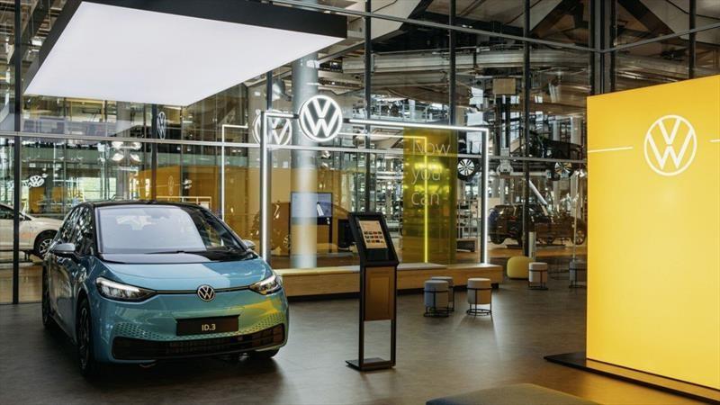 Volkswagen inauguró su primer concesionario de vehículos eléctricos