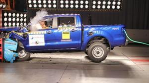 Latin NCAP actualiza los resultados de la Ford Ranger y los mejora