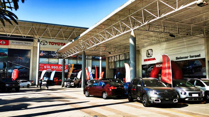 Venta de autos: el mercado chileno cae un 30% en 2020