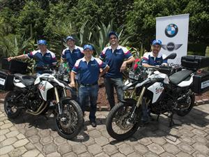 """""""La Vuelta a América"""" dos mexicanos a bordo de motocicletas BMW empiezan este viaje"""