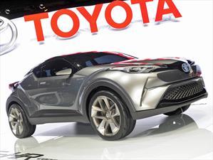 Toyota C-HR Concept, anticipa el competidor de HR-V y CX-3