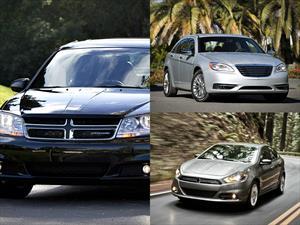 Dodge Dart, Dodge Avenger y Chrysler 200 reciben premio de seguridad Top Safety Pick del IIHS
