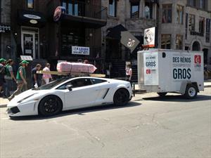 Video: ¿Un Lamborghini Gallardo para remolcar?