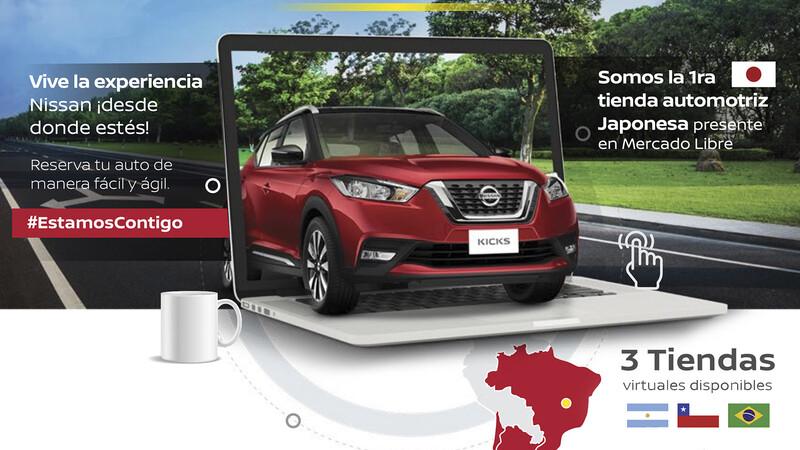 Nissan se adentra en el mundo del e-commerce de la mano de Mercado Libre