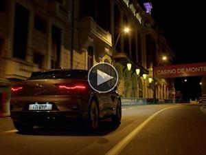 Jaguar i-Pace realiza un silencioso recorrido por las calles de Mónaco