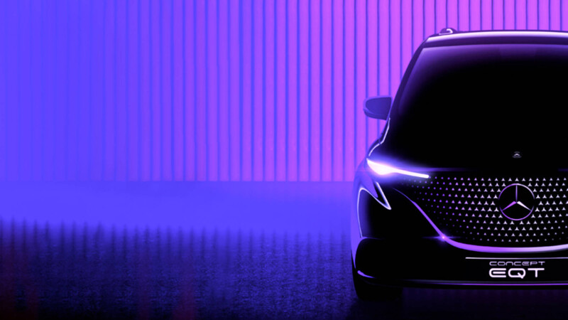 Mercedes-Benz EQT: anticipo de la próxima miniván eléctrica