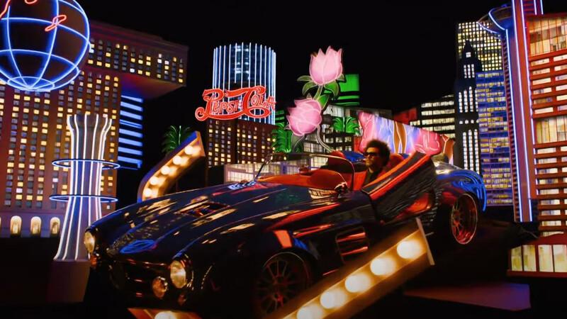 El curioso Mercedes-Benz que usó The Weeknd, durante el show de medio tiempo del Super Bowl LV