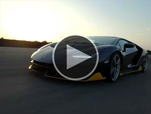 Video: Admira al Lamborghini Centenario LP770-4 en acción