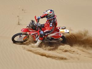 Pirelli, mano derecha del equipo HCR Honda en el Rally Dakar 2013