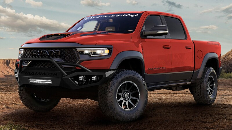 Hennessey Mammoth 1000: Una pick-up para no parar
