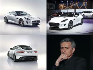 José Mourinho recibirá el primer Jaguar F-Type R Coupé en el Reino Unido