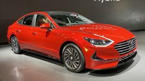 Salón de Chicago: Hyundai Sonata Hybrid 2020, a la guerra con los sedanes familiares ecológicos