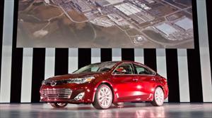 Toyota Avalon 2013 debuta en Nueva York