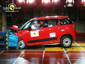 FIAT 500L logra 5 estrellas en la Euro NCAP