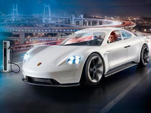 Porsche Mission E, ahora de película y con modelo a escala