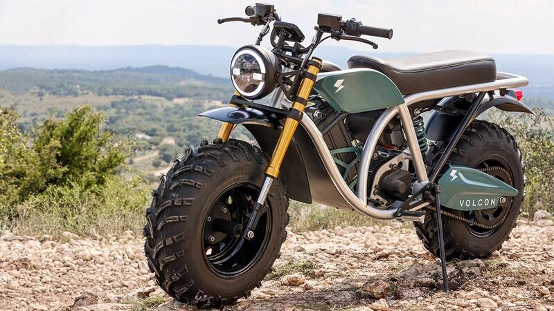 Volcon: la nueva marca de motocicletas todoterreno y vehículos side by side totalmente eléctricos