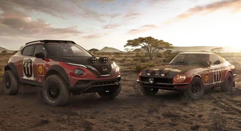 La admiración de Nissan por el Rally Safari se aprecia en un conceptual