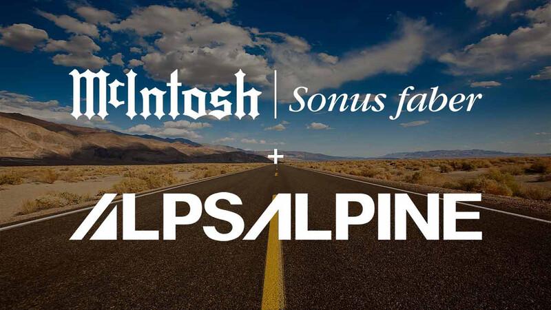 Alpine y McIntosh establecen alianza para desarrollar sistemas de audio premium