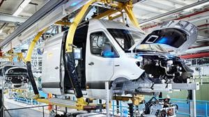 Mercedes-Benz inicia la producción de la Sprinter eléctrica