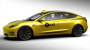Tesla Model 3 se suma a la flota de taxis de New York