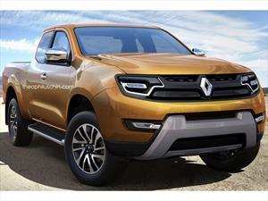 Así podría ser la nueva pick-up mediana de Renault