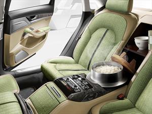 ¿En serio? Audi vende en Japón un A8 con vaporera de arroz incluida