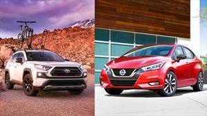 Nissan Versa y Toyota RAV4 son el Auto y SUV del Año en Latinoamérica