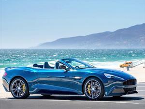 Aston Martin Vanquish Volante en el catálogo de lujosa tienda