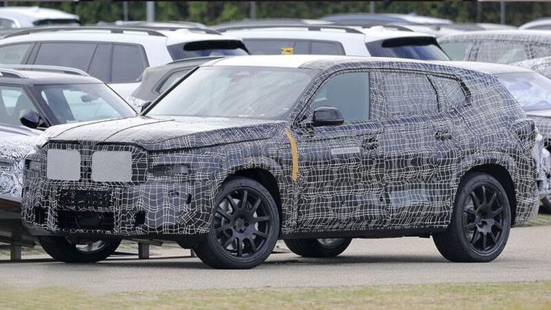 BMW X8, la camioneta mas grande y lujosa de la marca ya se encuentra en fase de pruebas