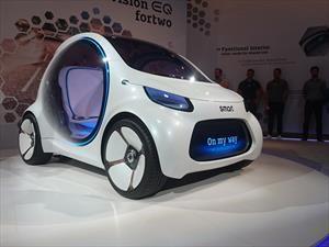 smart vision EQ fortwo, el auto del futuro