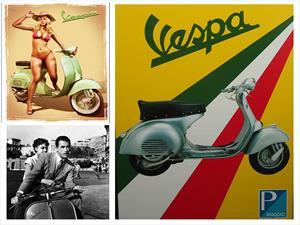 Vespa cumplió 70 años