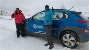 Hyundai Kona rompe un extraño Récord Guinness