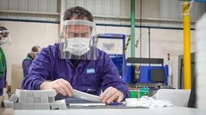 Ford Argentina fabricó y donó 20.000 protectores faciales