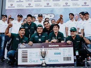 Scania Chile premió a sus mejores técnicos de taller en competencia nacional