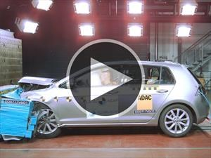 Excelentes resultados para el VW Golf en las pruebas de Latin NCAP