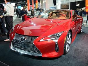 Lexus LC 500 2017, el mejor del Auto Show de Detroit 2016