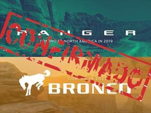 Las Ford Bronco y Ranger regresan a EE.UU.