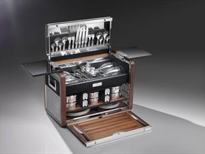 Así es la canasta de picnic de Rolls-Royce