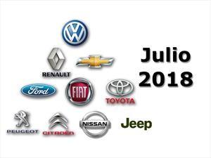 Top 10: las marcas más vendedoras de Argentina en julio de 2018