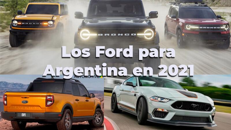 Las novedades de Ford para Argentina en 2021