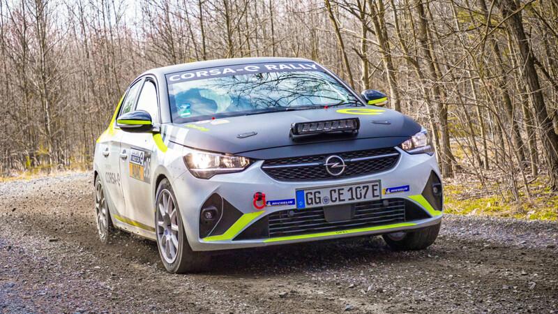 El Opel Corsa eléctrico de rally debutará con sonido deportivo