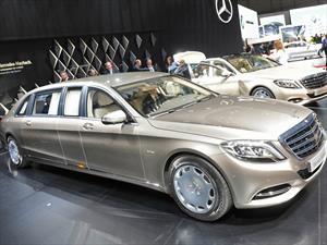 Mercedes-Maybach S600 Pullman 2016, la opulencia en toda su extensión