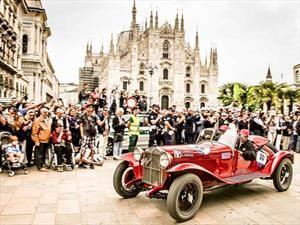Alfa Romeo hace el 1-2-3 en la Mille Miglia 2018