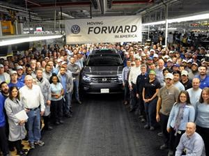 Volkswagen Atlas 2017 inicia producción