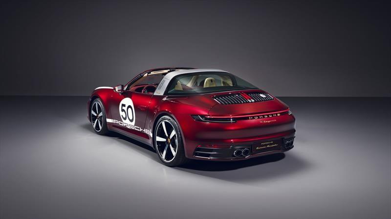 Porsche 911 Targa Heritage Design Edition, la primera de cuatro ediciones especiales