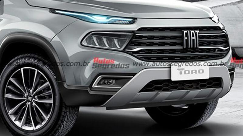 Nueva FIAT Toro tendrá pantalla a lo Tesla