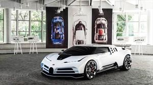 Bugatti Centodieci, homenaje al bicho raro